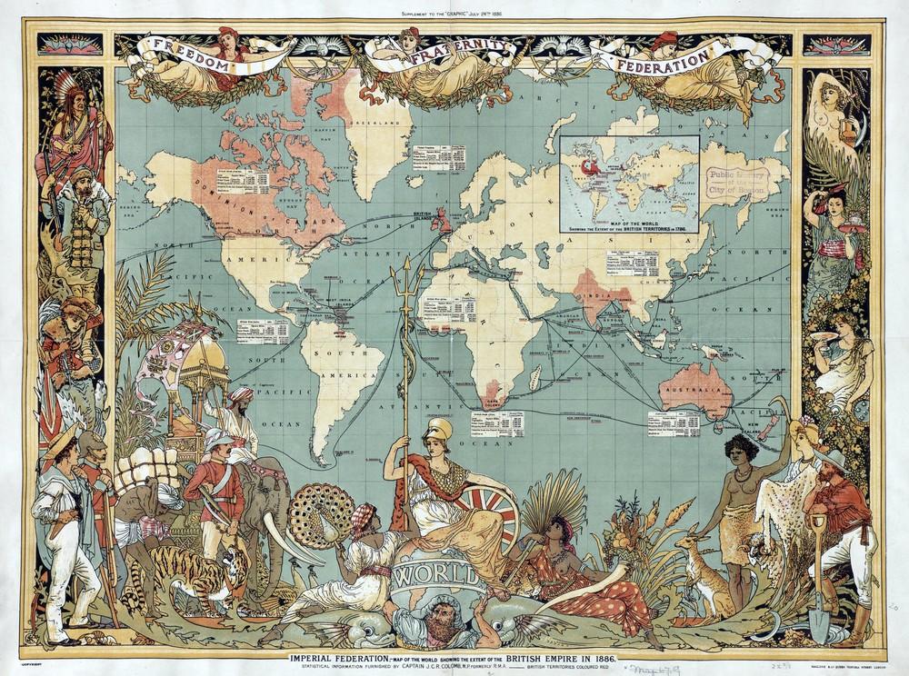 L Ascension Et La Chute Des Nations Le Monde De Demain