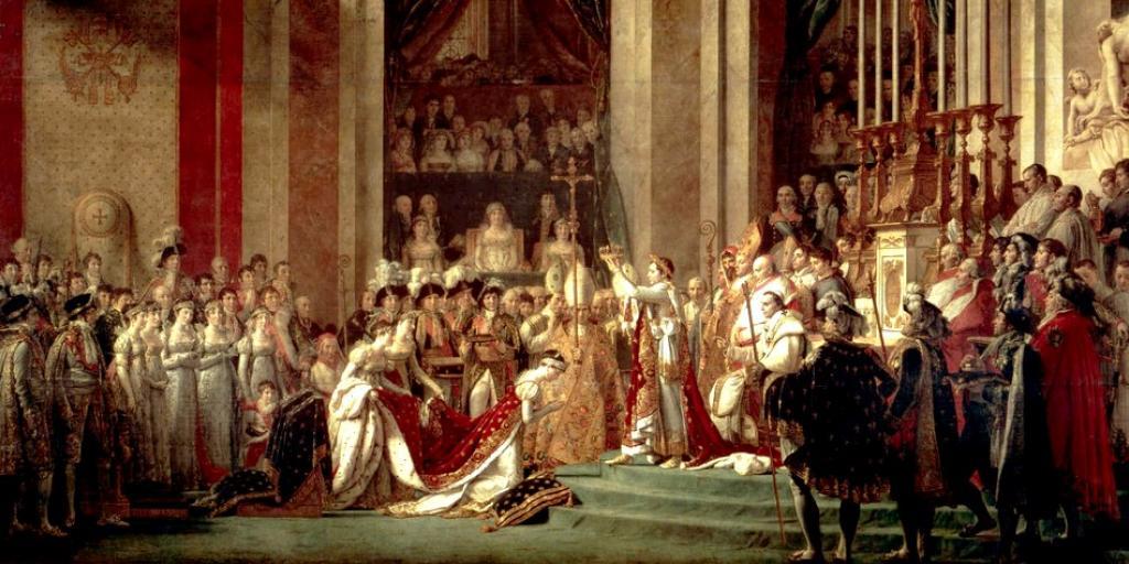 Le sacre de Napoléon