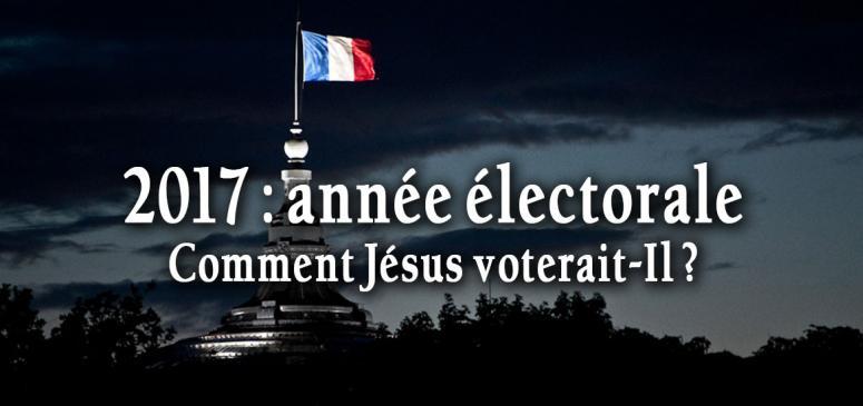Front slider - Comment Jésus voterait-Il?