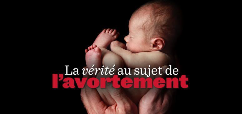 Front slider - La vérité au sujet de l'avortement