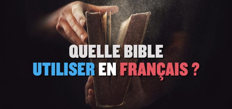 Front slider - Quelle Bible utiliser en français?