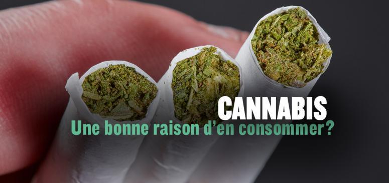 Front slider - Cannabis: Y a-t-il une bonne raison d'en consommer?