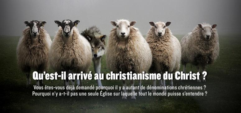 Front slider -- Qu'est-il arrivé au christianisme du Christ?