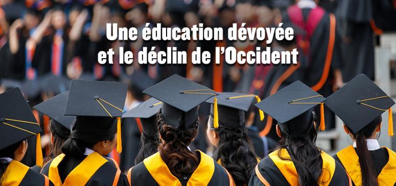 Front slider -- Une éducation dévoyée et le trépas de l'Occident