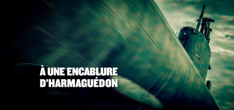 Front slider -- À une encablure d'Harmaguédon