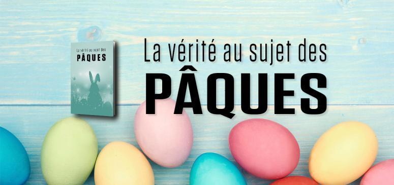 Front slider - La vérité au sujet des Pâques