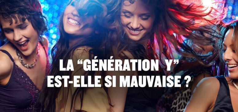Front slider - La génération Y est-elles si mauvaise?