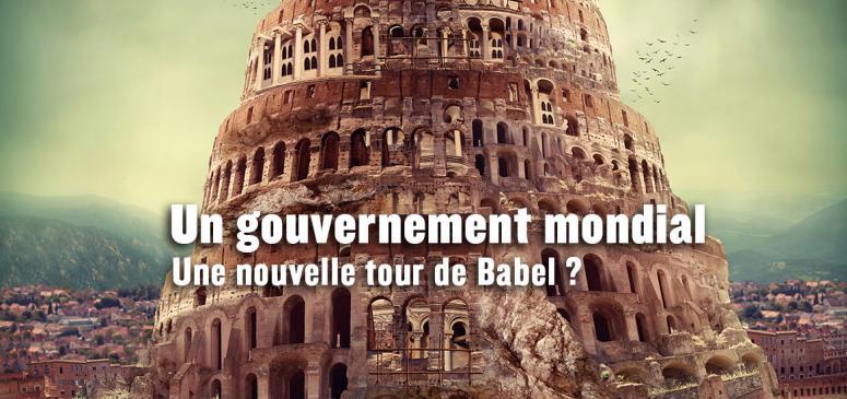 Front slider - Le gouvernement mondial à venir