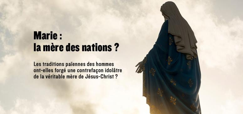 Front slider -- Marie: la mère des nations?