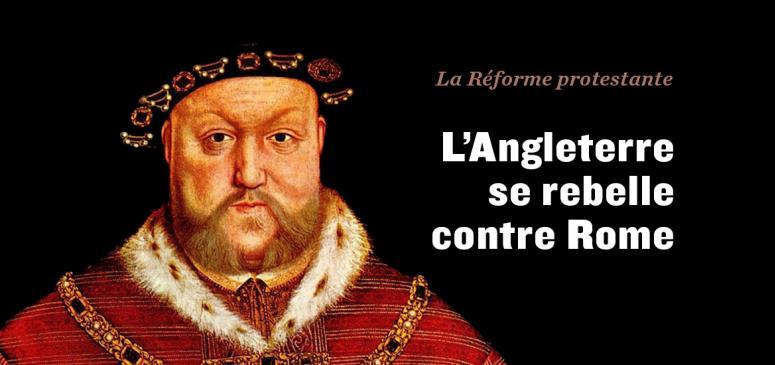 Front slider - L'Angleterre se rebelle contre Rome