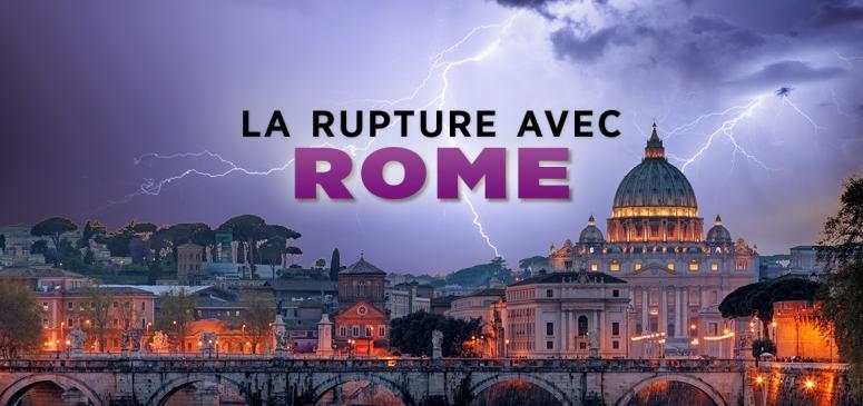 Front slider - La rupture avec Rome