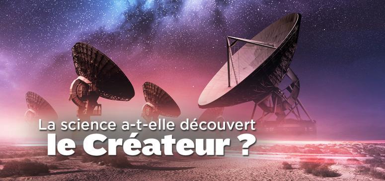 Front slider -- La science a-t-elle découvert le Créateur?