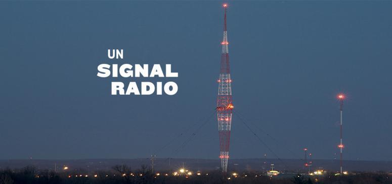 Front slider - Un signal radio